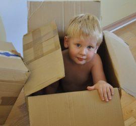 déménager avec des enfants